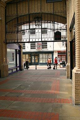 Canterbury Tour - End of the Victorian Arcade
